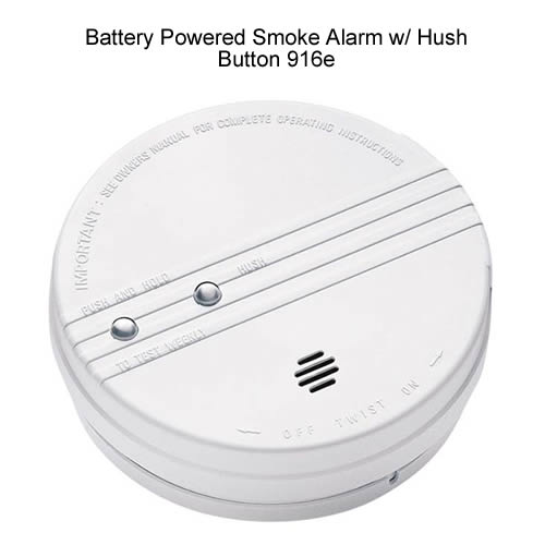 Front image of Kidde ionization photoelectric smoke alarm - icon