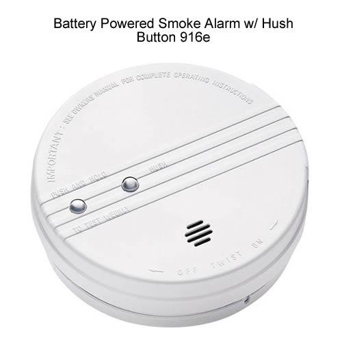 Front image of Kidde ionization photoelectric smoke alarm - icon