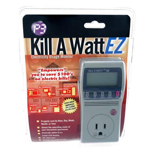 Kill A  Watt Electricity Usage Monitor inside retail clamshell packaging - icon
