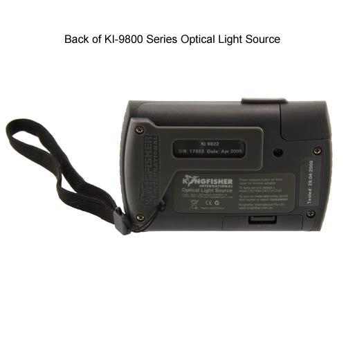back view of kingfisher ki 9800 series optical light source - icon