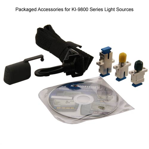 kingfisher ki 9800 series optical light source packaged accessories - icon