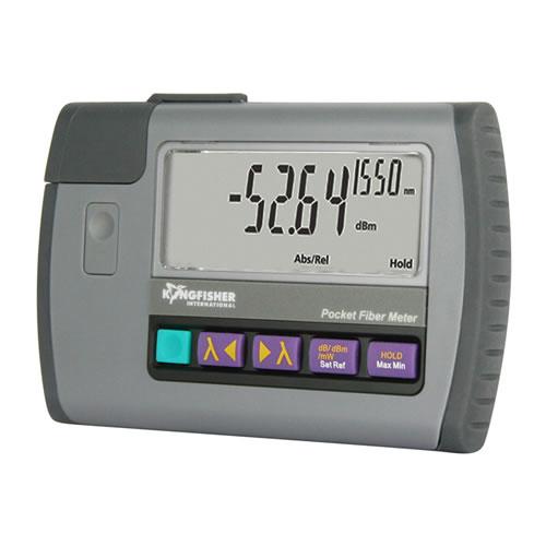 kingfisher ki 9600 series optical power meter powered on - icon