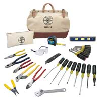 electrician klein tools set