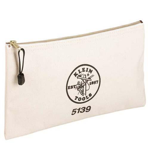 Klein Tools Canvas Zipper Bag - 5139 Beige - icon