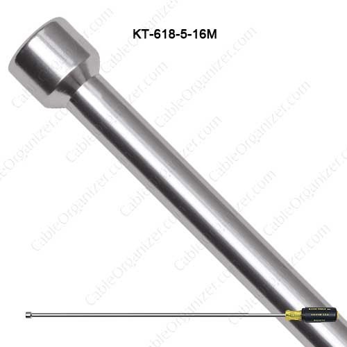 Klein Tools 5/16in Magnetic Tip, 18in Hollow Shaft - icon