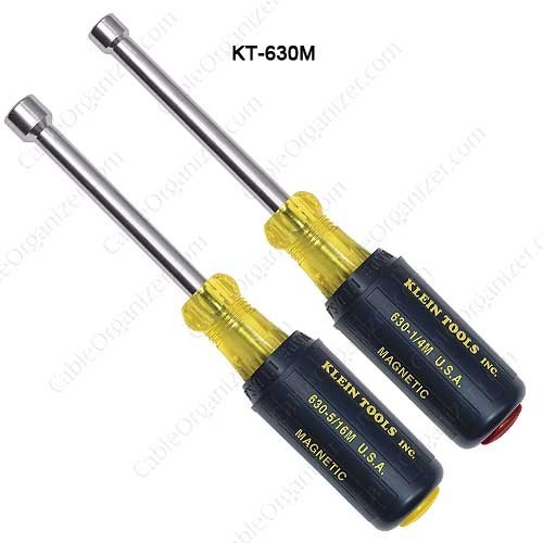 Klein Tools 2 Pc Magnetic Tip Set, 3in Hollow Shaft - icon
