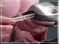 hand held personal label maker