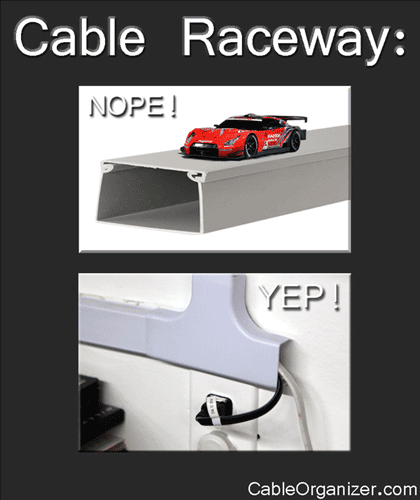 Cable Raceway: the Wrong & the Right Way