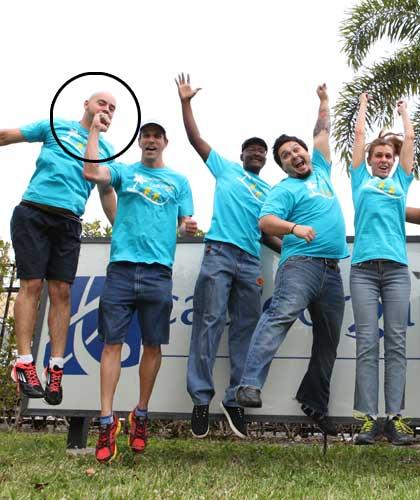 CableOrganizer running team photo