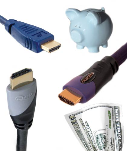 HDMI cables and money