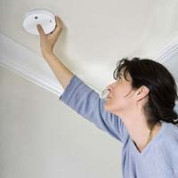 installing a micro ionization smoke alarm