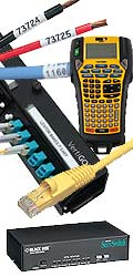 Labels, Cables & Network Equipment