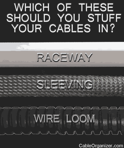 Raceway, Sleeving, Wire Loom…Which to Choose?