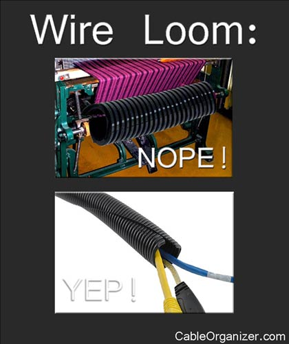 Wire Loom: the Wrong & the Right Way