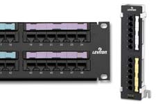 Leviton eXtreme6 and GigaMax patch panels