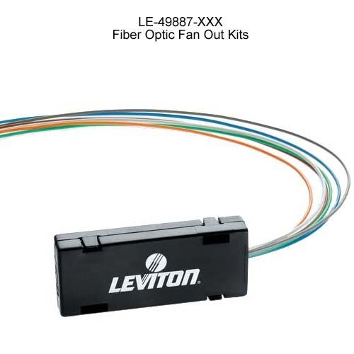 leviton fiber optics fan out kit icon