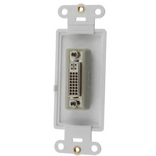 leviton decora high definition video dvi-i connector insert icon