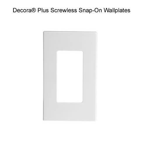 screwless wallplate