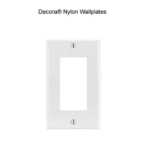 nylon wallplate
