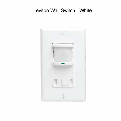 Leviton switch white - icon
