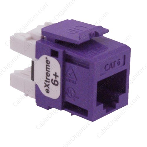 Leviton eXtreme® Category 6+ Snap-In Connectors