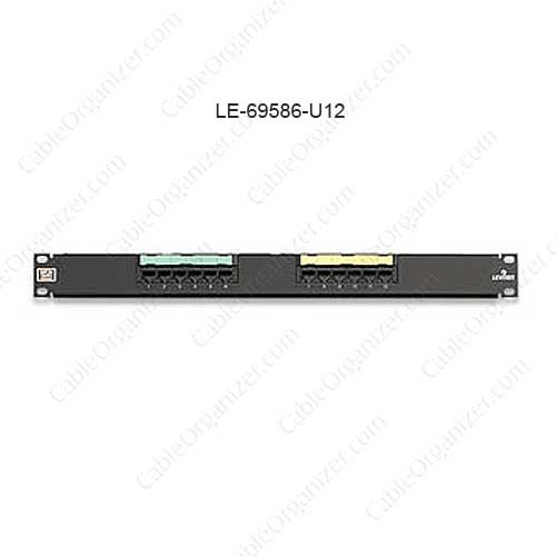 Leviton eXtreme® 6+ Universal Patch Panel, 12-Port - icon