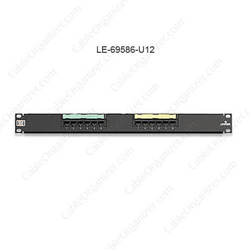 Leviton eXtreme® 6+ Universal Patch Panels