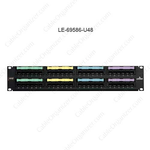 Leviton eXtreme® 6+ Universal Patch Panel, 48-Port  - icon