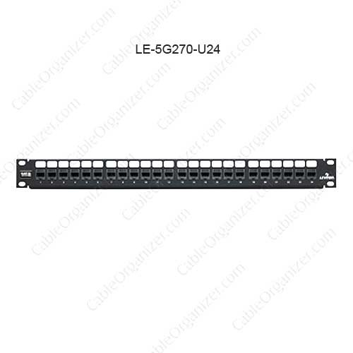 Leviton GigaMax™ 5e QuickPort® Patch Panel, 24-Port - icon