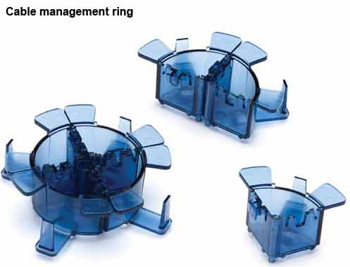 leviton opt-x ultra high density fiber enclosure cable management rings icon