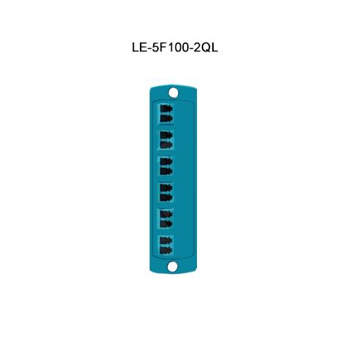 Leviton® Opt-X Fiber Optic Adapter Plates LE-5F100-2QL