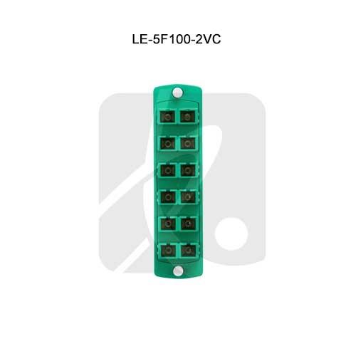 Leviton® Opt-X Fiber Optic Adapter Plates LE-5F100-2VC
