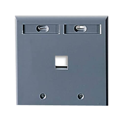 1 port wall plate - icon
