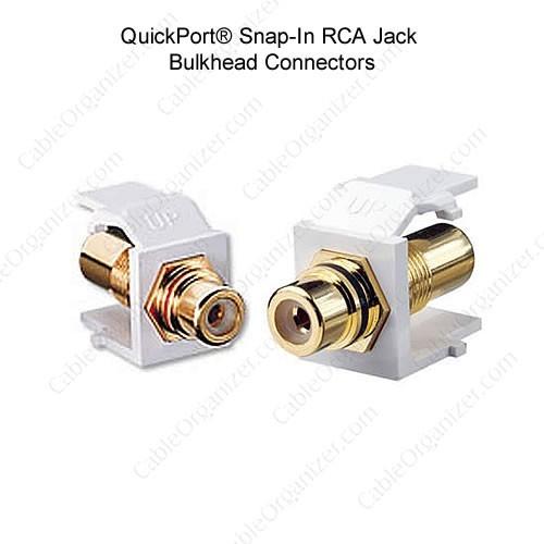 Leviton RCA jack connector - icon