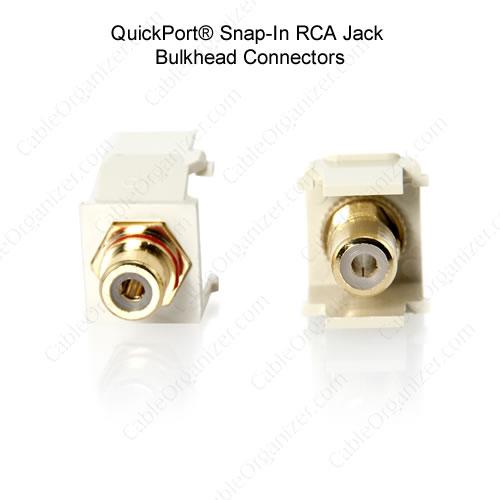 Leviton Quickport RCA jack connectors - icon
