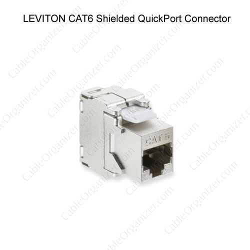 Leviton cat6 shielded quickport connector - icon