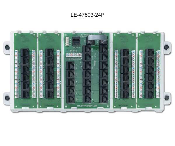 leviton preconfigured structured media panel 47603-24p icon