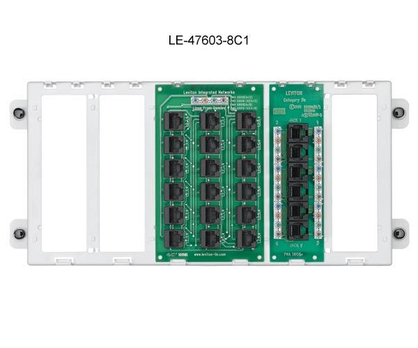 Leviton Pre-Configured Structured Media™ Panels - Cableorganizer.comCableOrganizer.com