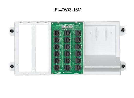 leviton preconfigured structured media panel 47603-18m icon