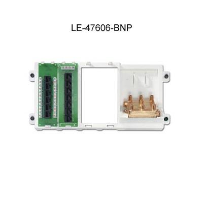 leviton preconfigured structured media panel 47606-bnp icon