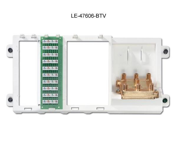 leviton preconfigured structured media panel 47606-btv icon