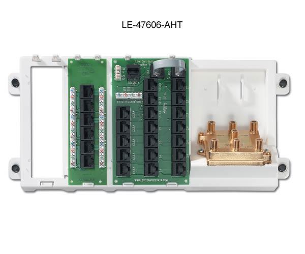 leviton preconfigured structured media panel 47606-aht icon
