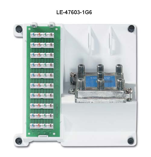 Leviton Compact Series: Telephone and Video Panels