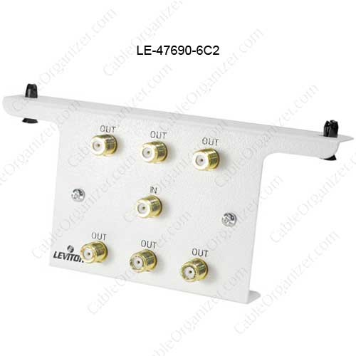 Leviton Passive 6-Way Video Splitter Module - icon