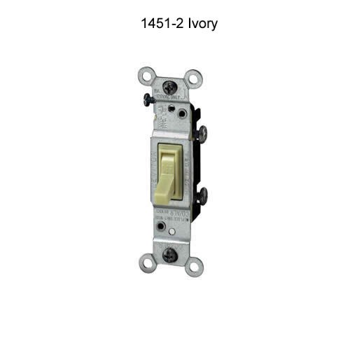 leviton 15 amp single pole and 3 and 4 way quiet toggle switch in ivory icon