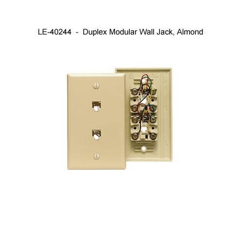 Type 625 Modular Telephone Wall Jacks