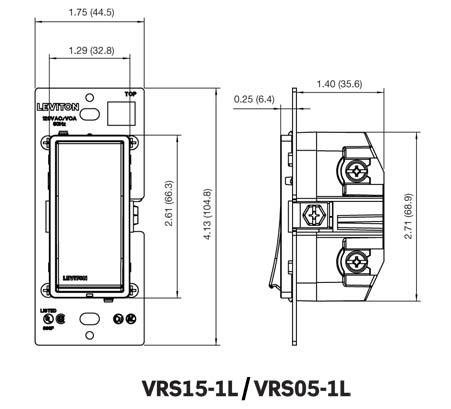 VRS05, VRS15 drawings