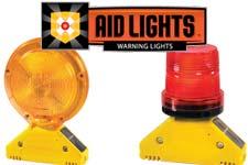 aid lights, solar aid light, warning lights