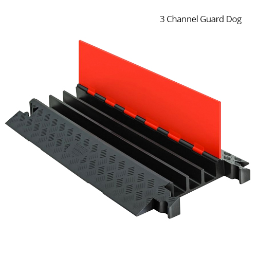Guard Dog Heavy Duty three channel cable protector, lid opened - icon