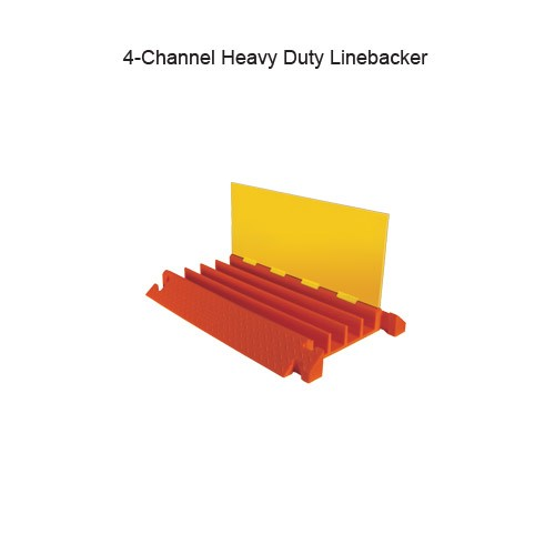 Linebacker Light Weight Cable Protector CPHD4X125